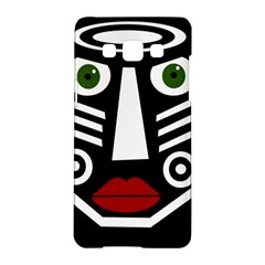 African Mask Samsung Galaxy A5 Hardshell Case  by Valentinaart