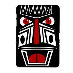 African Red Mask Samsung Galaxy Tab 2 (10 1 ) P5100 Hardshell Case  by Valentinaart
