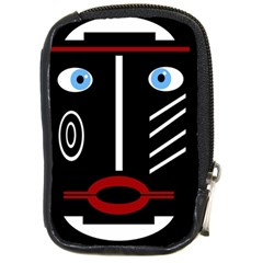 Decorative Mask Compact Camera Cases by Valentinaart