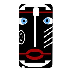 Decorative Mask Samsung Galaxy Note 3 N9005 Hardshell Back Case by Valentinaart