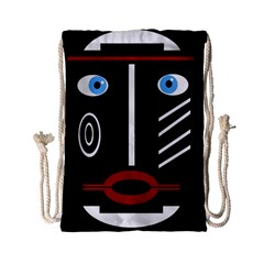 Decorative Mask Drawstring Bag (small) by Valentinaart