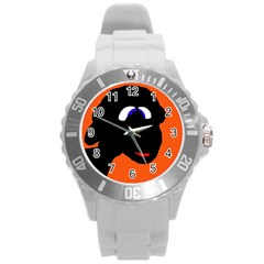 Black Sheep Round Plastic Sport Watch (l) by Valentinaart