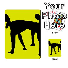 Black Dog Multi Purpose Cards (rectangle)  by Valentinaart