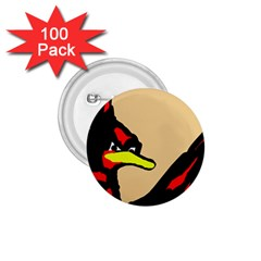 Angry Bird 1 75  Buttons (100 Pack)  by Valentinaart