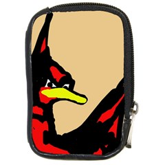 Angry Bird Compact Camera Cases by Valentinaart