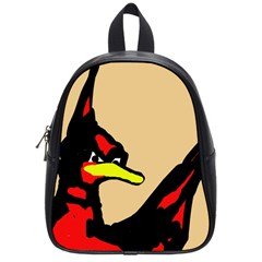Angry Bird School Bags (small)  by Valentinaart