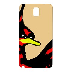 Angry Bird Samsung Galaxy Note 3 N9005 Hardshell Back Case by Valentinaart