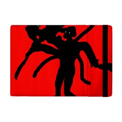 Abstract Man Apple Ipad Mini Flip Case by Valentinaart