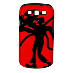 Abstract Man Samsung Galaxy S Iii Classic Hardshell Case (pc+silicone) by Valentinaart
