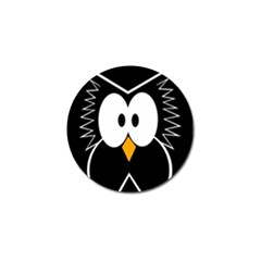 Black Owl Golf Ball Marker