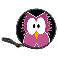 Pink Owl Classic 20 Cd Wallets by Valentinaart