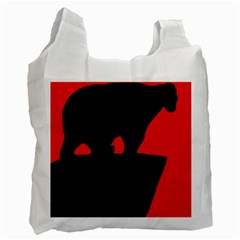 Bear Recycle Bag (one Side)