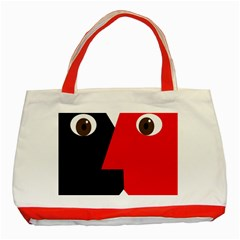 Kiss Classic Tote Bag (red)