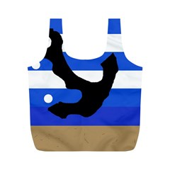 Anchor Full Print Recycle Bags (m)  by Valentinaart