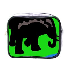 Elephand Mini Toiletries Bags by Valentinaart