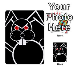 Evil Rabbit Multi Purpose Cards (rectangle)  by Valentinaart