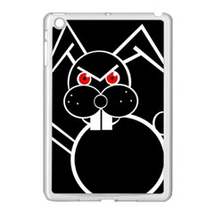 Evil Rabbit Apple Ipad Mini Case (white) by Valentinaart