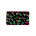 Holly Jolly Christmas Cosmetic Bag (Small)  Back