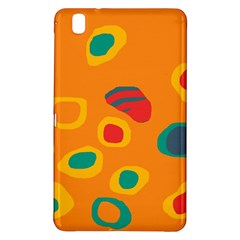 Orange Abstraction Samsung Galaxy Tab Pro 8 4 Hardshell Case by Valentinaart