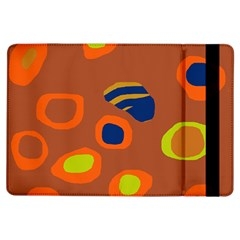 Orange Abstraction Ipad Air Flip by Valentinaart