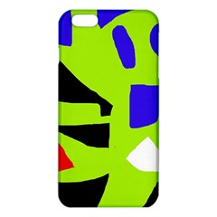 Green Abstraction Iphone 6 Plus/6s Plus Tpu Case by Valentinaart