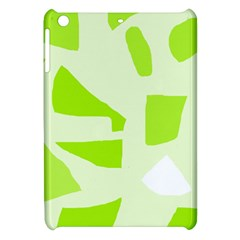 Green Abstract Design Apple Ipad Mini Hardshell Case by Valentinaart