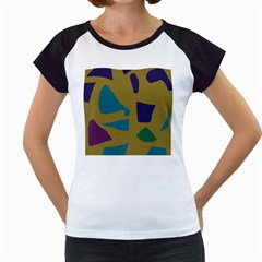 Colorful Abstraction Women s Cap Sleeve T by Valentinaart