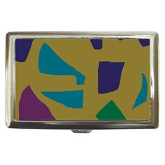 Colorful Abstraction Cigarette Money Cases by Valentinaart