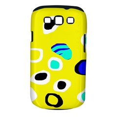 Yellow Abstract Pattern Samsung Galaxy S Iii Classic Hardshell Case (pc+silicone)