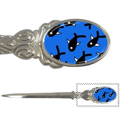 Cute Fishes Letter Openers by Valentinaart