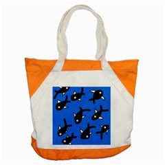 Cute Fishes Accent Tote Bag by Valentinaart