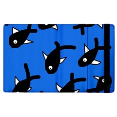 Cute Fishes Apple Ipad 3/4 Flip Case by Valentinaart