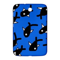 Cute Fishes Samsung Galaxy Note 8 0 N5100 Hardshell Case  by Valentinaart