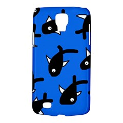 Cute Fishes Galaxy S4 Active by Valentinaart