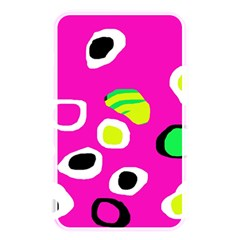 Pink Abstract Pattern Memory Card Reader by Valentinaart