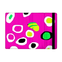 Pink Abstract Pattern Ipad Mini 2 Flip Cases by Valentinaart