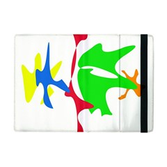 Colorful Amoeba Abstraction Apple Ipad Mini Flip Case by Valentinaart