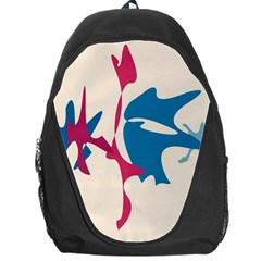 Decorative Amoeba Abstraction Backpack Bag by Valentinaart
