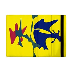 Yellow Amoeba Abstraction Ipad Mini 2 Flip Cases by Valentinaart