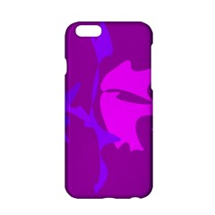 Purple, Pink And Magenta Amoeba Abstraction Apple Iphone 6/6s Hardshell Case by Valentinaart