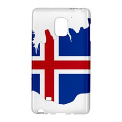 Iceland Flag Map Galaxy Note Edge by abbeyz71