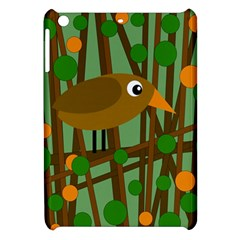 Brown Bird Apple Ipad Mini Hardshell Case by Valentinaart