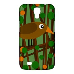 Brown Bird Samsung Galaxy Mega 6 3  I9200 Hardshell Case by Valentinaart