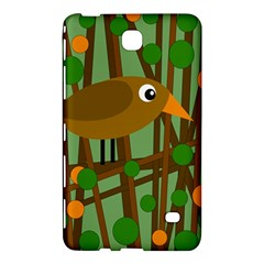 Brown Bird Samsung Galaxy Tab 4 (7 ) Hardshell Case  by Valentinaart