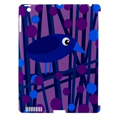 Purple Bird Apple Ipad 3/4 Hardshell Case (compatible With Smart Cover) by Valentinaart