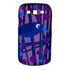 Purple Bird Samsung Galaxy S Iii Classic Hardshell Case (pc+silicone) by Valentinaart