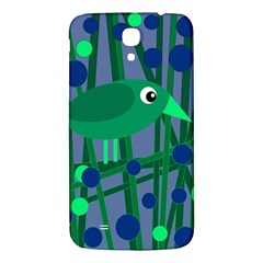 Green And Blue Bird Samsung Galaxy Mega I9200 Hardshell Back Case by Valentinaart