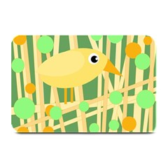 Yellow Little Bird Plate Mats by Valentinaart