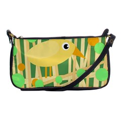 Yellow Little Bird Shoulder Clutch Bags