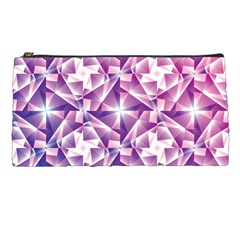Purple Shatter Geometric Pattern Pencil Cases by TanyaDraws